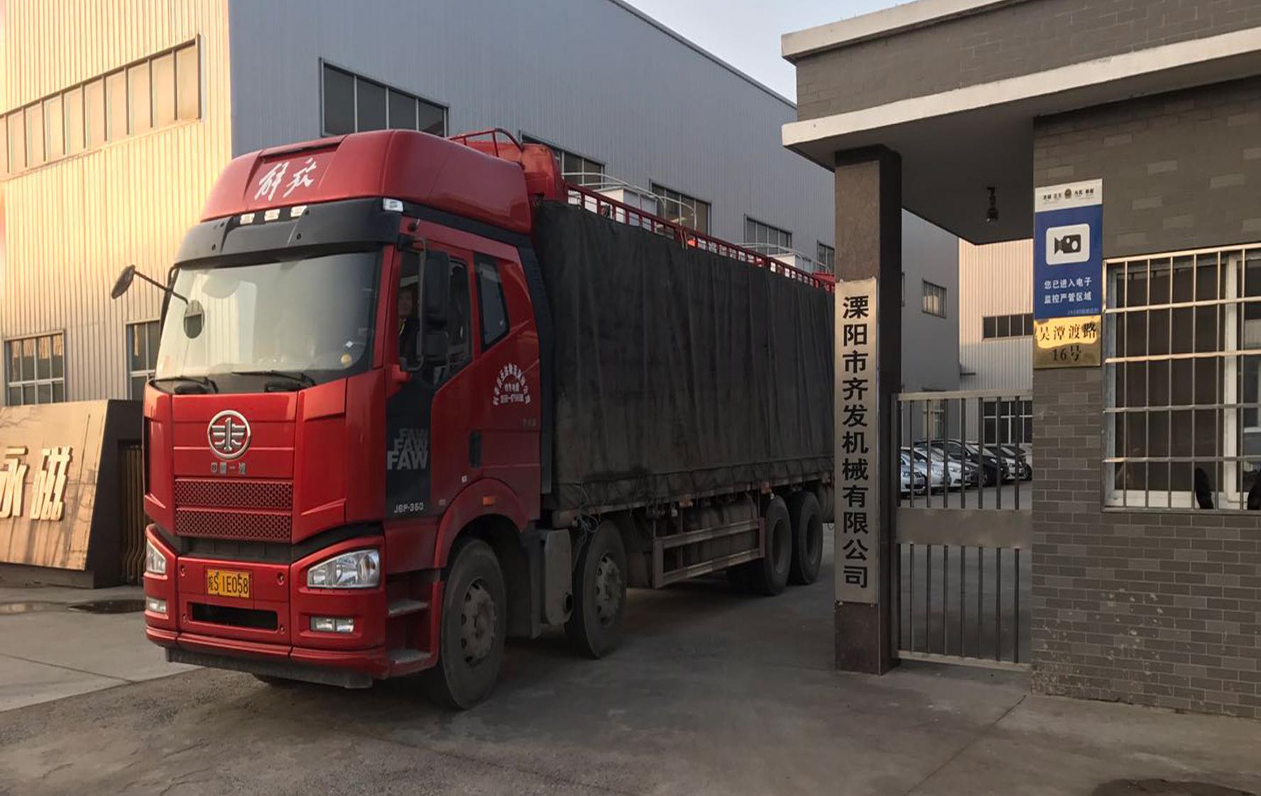 湖南益阳4台颗粒机某项目发货实况
