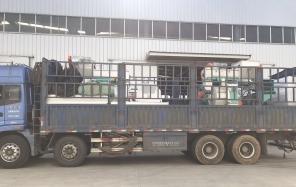 火红的11月-安徽南陵颗粒机顺利发货