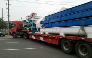 齐发机械11月29日盐城滨海颗粒机顺利发货