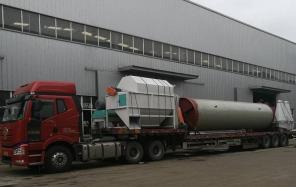 齐发机械-广西钦州首发两台制粒成套设备顺利发货