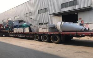 齐发机械-阜阳3台制粒成套设备顺利发货
