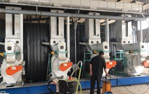 齐发机械—泗县现场安装调试完成